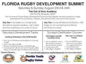 Florida Rugby Development Summit