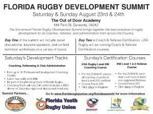 Florida Rugby Development Summit
