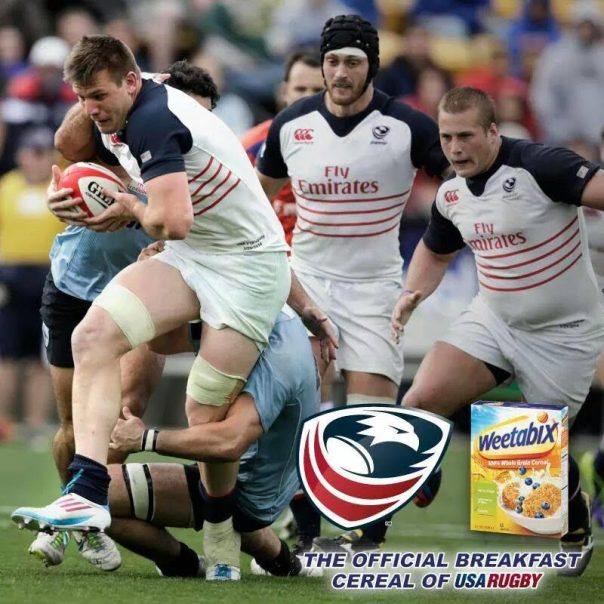 Weetabix - The official Breakfast Cereal of USA Rugby Featuring Cam Dolan.