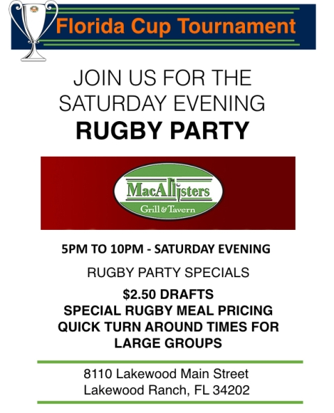 FLORIDA CUP_Rugby Party